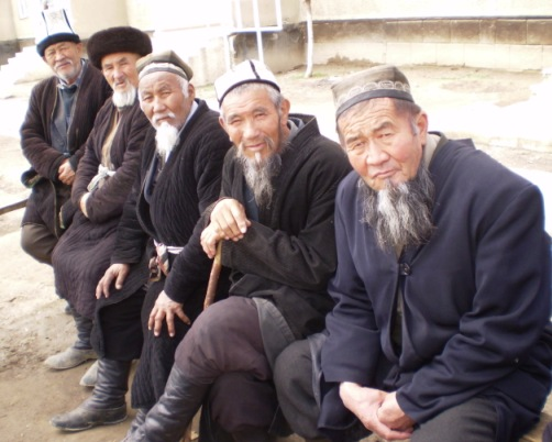 Residents of the Batken oblast, Kyrgyzstan
